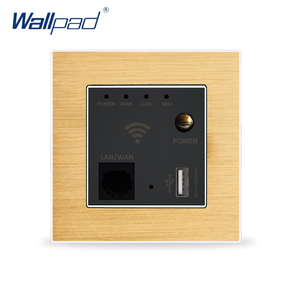 Wall Embedded Wireless WIFI AP Router Phone USB Socket Outlet Wall Charger WiFi Smart Socket Electric USB Wall Sockets Repeater hot sale 300m rate 110 250v white black usb socket wireless wifi usb charging socket wall embedded wireless ap router