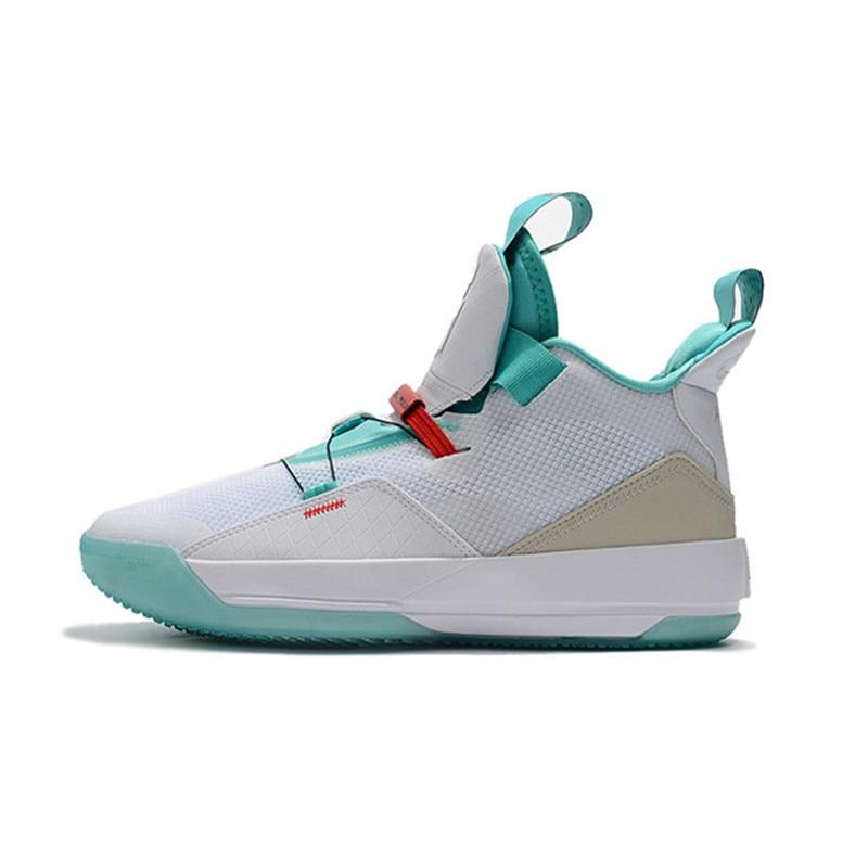 lowest price 753e1 48295 Detail Feedback Questions about KFJ AIR US New Jordan 33 XXXIII Retro Basketball  Shoes Black Sports Man White Bottom Sneaker Training Footwear New Sale on  ...
