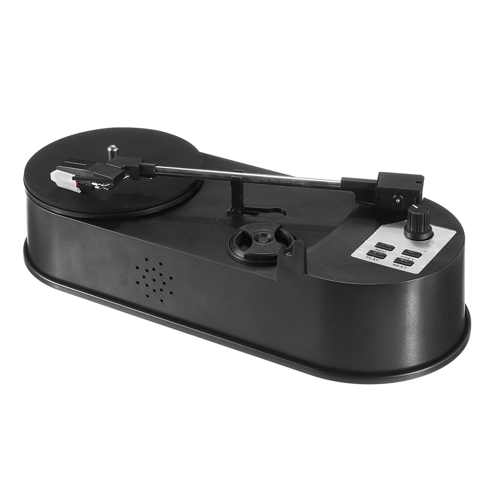 LEORY Mini Turntable Vinil LP Record To MP3 USB Charge Converter SD Flash Drive Directly No Need For PC Protect Vinyl Record