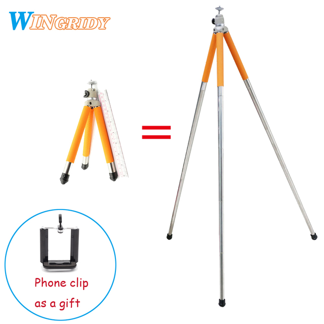 2018 Newest Professional Mini Tripod 5 sections stainless steel tripod For Mobile phone DSLR camera and Gopro Canon Nikon Sony