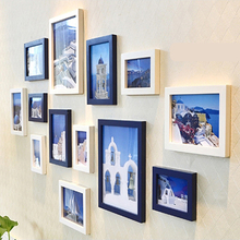 Solid wood photo frame creative children Flexible Multicolor picture home decor Free shipping