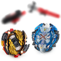 Bables Toupee Bayblade Burst Gyroscope With Launcher For Children Toys Gift Metal God Spinning Tops Bey Blade Blades B67 B00