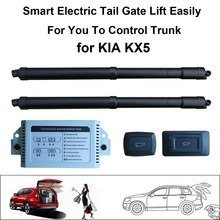Smart Auto Electric Tail Gate Lift for KIA KX5 Control by Remote Drive Seat Tail Gate Button Set Height Avoid Pinch smart auto electric tail gate lift for hyundai ix35 control by remote drive seat tail gate button set height avoid pinch