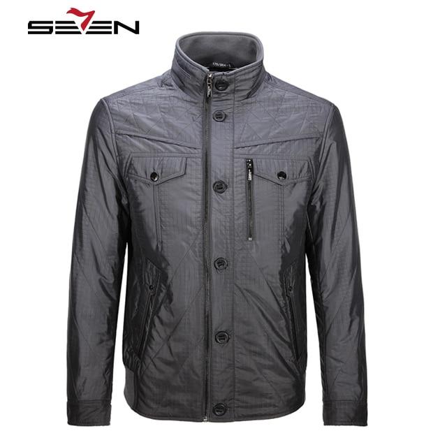 Seven7 Brand 2016 New Arrival Winter Men Coats Parkas Plus Size Warm Casual Jacket Fashion Men Outerwear Coats 703K2313