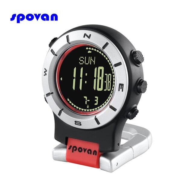 Digital Pocket Watch 30M Waterproof Men Women Military Sport Barometer Altimeter