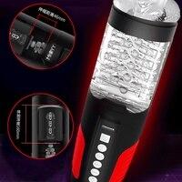 Мужской электромаструбатор оральная чаша для интима Глубокая глотка Рот Мужской мастурбатор секс игрушки для кольцо для мастурбации для м