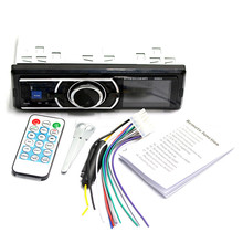 купить 12V Bluetooth Auto Car Radio 1DIN Stereo Audio MP3 Player FM Radio Receiver Support Aux Input SD USB + Remote Control онлайн