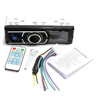 12V Bluetooth Auto Car Radio 1DIN Stereo Audio MP3 Player FM Radio Receiver Support Aux Input SD USB + Remote Control