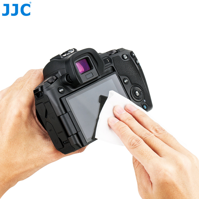JJC CL-W110 110PCS/LOT Moist Cleaning Wipes Safe And Gentle For Streak-free Cleaning For Camera Lens, Smart Phone, Eyeglass