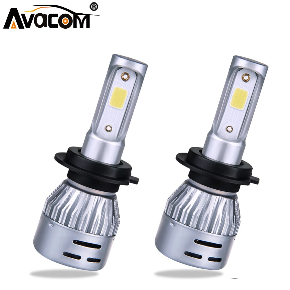H1 H4 LED 12V 8000lm Mini Car Bulb Headlight H8 H9 H11 HB3 HB4 COB 72W 6500K 4300K 3000K 8000K 24V LED H7 Auto Lamp Car Light petek pt466 056 01 petek