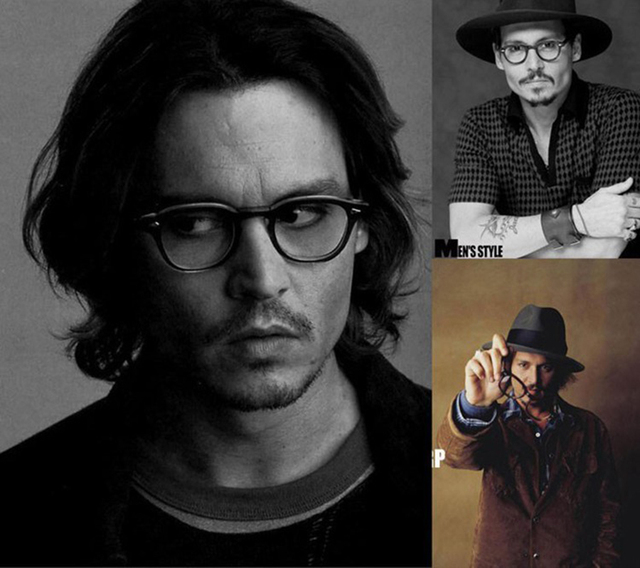 2324d02346 JackJad 2017 New Fashion Brand Johnny Depp Glasses Vintage Round Optical  Eyeglasses Myopic Glasses Frame Quality Oculos De Grau