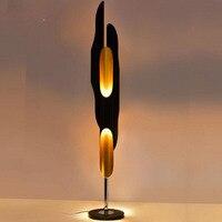 Творческая личность бамбук три торшер постмодерн минималистский торшер отель косой алюминиевый bamboo светодиодные торшеры led