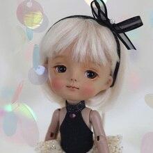 OUENEIFS Gülümseme Ming Secretdoll BJD SD bebek 1/8 Vücut Modeli Reçine Rakamlar Çocuklar Için Yüksek Kaliteli mini oyuncaklar Moda Mağazası Luodoll
