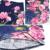 BFDADI 2017 Nuevas Flores Del Verano de Las Mujeres Casual Camiseta de cuello Redondo murciélagos mujeres clothing camiseta de manga corta más tamaño camiseta 1658