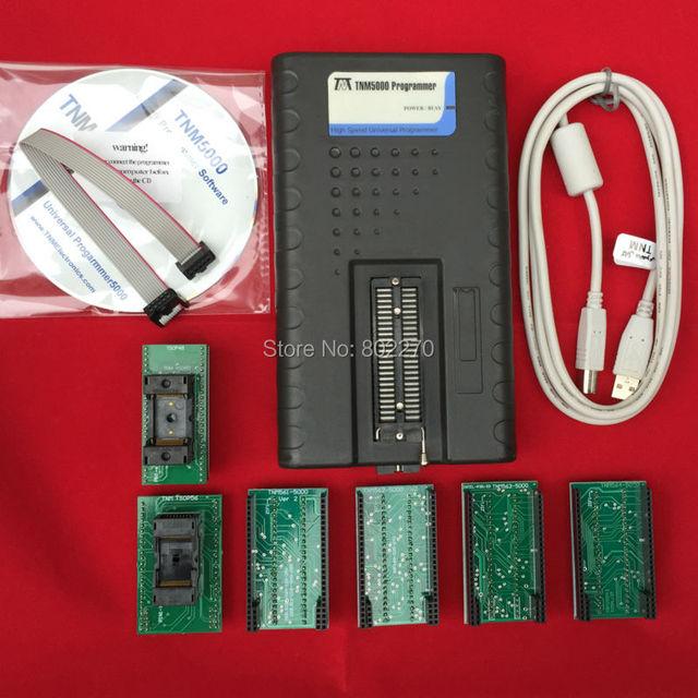 TNM5000 Programador Universal para NAND flash/EEPROM/MCU/PLD/CPLD/FPGA + conjunto adaptador TSOP56 + TSOP32/40/48 adaptador
