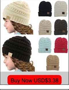 22e3e16267b CC Beanies Winter Hats For Women Men Knitted Caps Woolen Hat Casual Unisex  Solid Color Hip-Hop Skullies Beanie Warm Cap