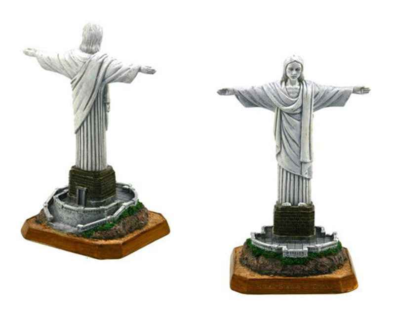 Brazil Christ The Redeemer Creative Resin Crafts World Famous Landmark Model Tourism Souvenir Gifts Collection Home Decoration