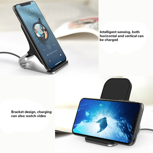 Image 5 - Qi Wireless Charger Stand 15W Qi Fast Charge Phone Stand Multifunctional Wireless Charging Pad For iPhone 12 Pro Samsung S20 10