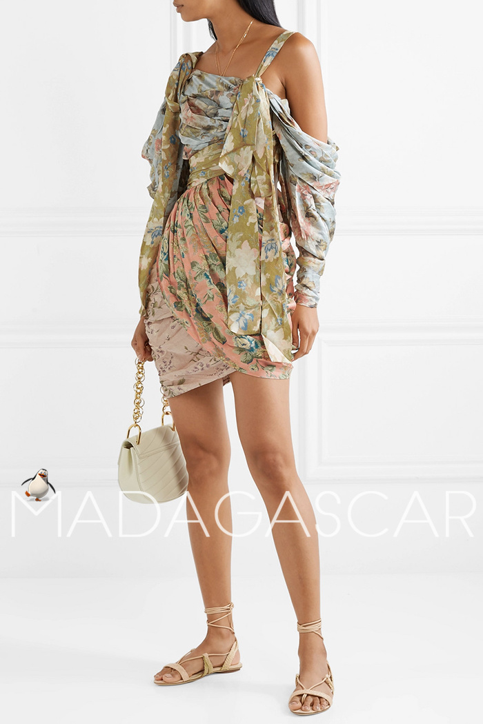 Pre-sale ~ 30 days can accept the purchase ~ mini silk dress quality dress 3