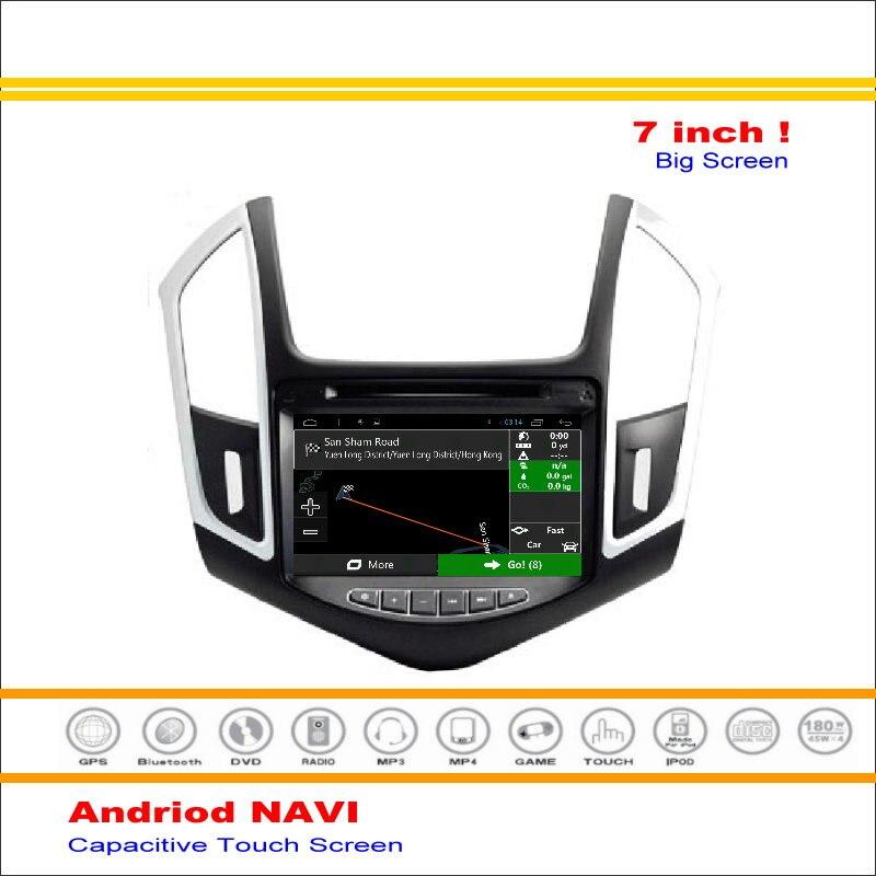 Coche Android Sistema de Navegación GPS de NAVEGACIÓN NAVI Para Chevrolet Cruze
