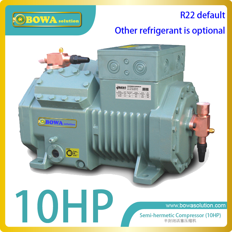 M4 10HP(R22)  MBP compressor for commerce air conditioner replace Bitzer 4PCS-10.2(Y) and copland semi-hermetic compressor