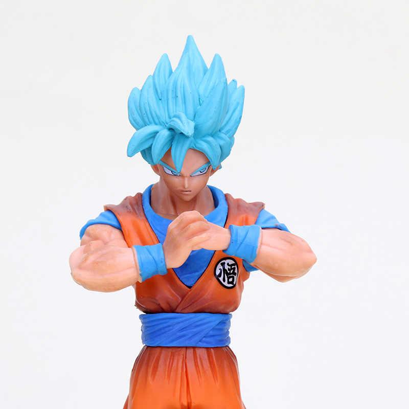2 pçs/set Dragon Ball Super DXF O vol.4 Super Guerreiros Deus Super Saiyajin Goku Vegetto Action Figure Toy