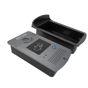 """Image 4 - Бесплатная доставка Новый 9 """"цветной экран видео домофон комплект + 1 белый монитор + открытый RFID дверной Звонок камера + магнитный замок"""