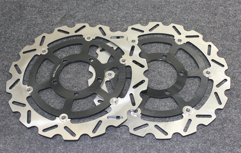 Motorcycle Front Brake Disc Rotors For GTR1400(ZG 1400 A8F/A9F/CAF0) 08-10 Universel motorcycle rear brake disc rotors for gtr 1000 86 93 universel