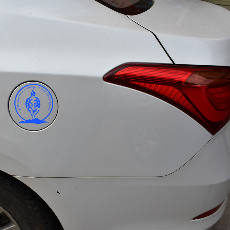Cool wolf totem decoration car sticker on side door windows and so on,die cut reflective vinyl sticker for vw/bmw e46/toyota/kia