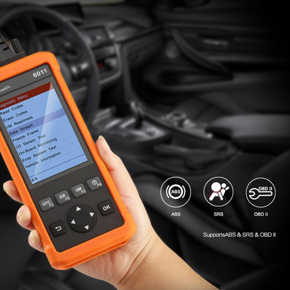 Launch Full OBD2 Scanner code reader Cr6011 611 auto car Diagnostic ...