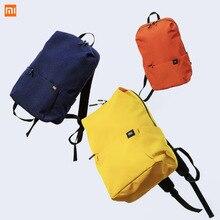 Original xiaomi 10l mochila saco colorido lazer esportes caixa pacote sacos unissex para homens mulher viagem acampamento