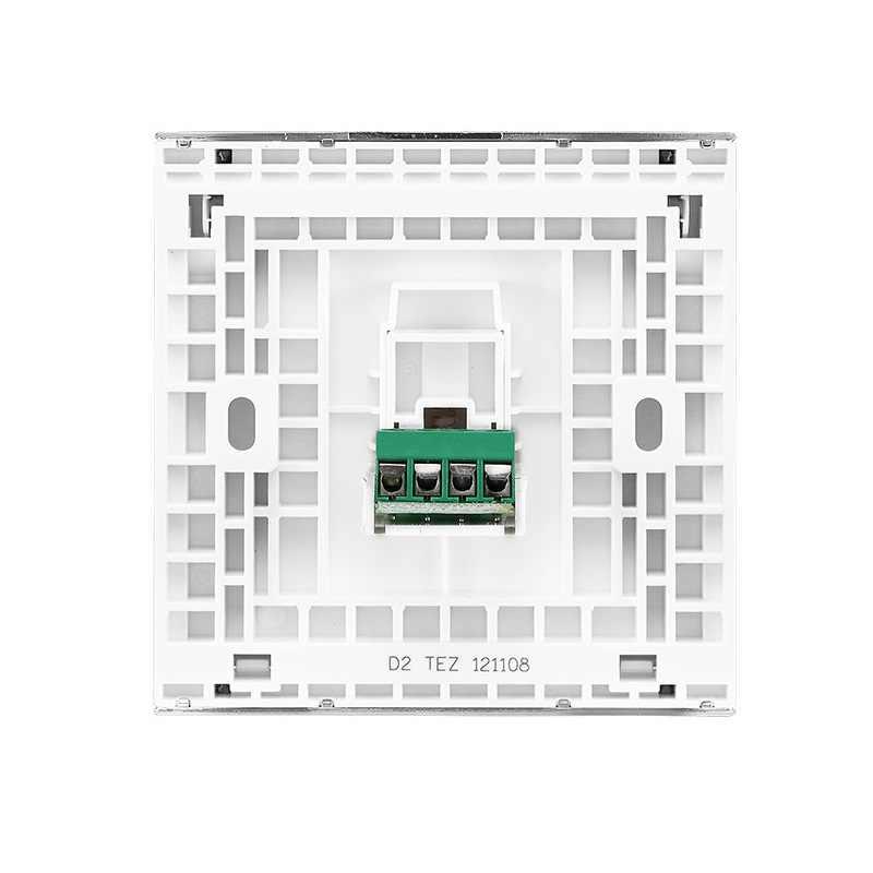 高品質電話壁ソケットピアノのキーシリーズ86型ソケット電気めっきフレーム(飾り枠)難燃性pc 86*86ミリメートル