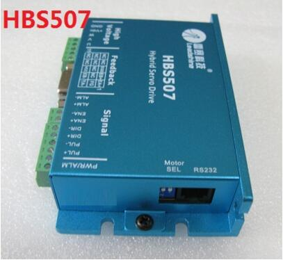 NEMA23 3PHASE closed loop motor hybrid servo drive HBS507 leadshine 18-50VDC leadshine 3phase 3dm683 leadshine 3phase stepper drive motor 573s09 l