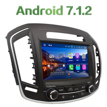 Android 7.1.2 2Din 2GB RAM Quad Core 8 inch Bluetooth car DVD multimedia radio player for Opel Insigina/Buick Regal 2014 2015