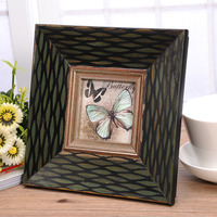 3 6 7 Inch Solid Wood Retro Photo Craft Pastoral Gifts Frame Home Decor Wooden Wedding