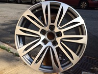 Free Shipping 20 inch 5x112 ET 38 Gunmetal Machine Face Wheel Rims FITS VW W636
