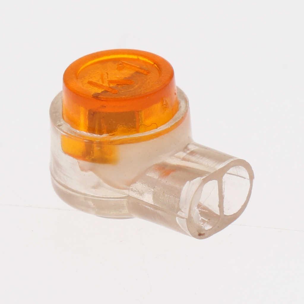 200x2 maneiras geléia gel crimps conectores internos externos fio rede de telefone longa vida & durável