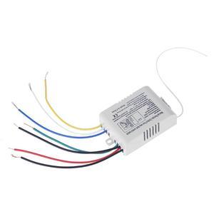 Image 4 - 4 röle 220V kablosuz RF uzaktan kumanda anahtarı verici + alıcı dijital akıllı akıllı dijital ev duvar lambası uzaktan