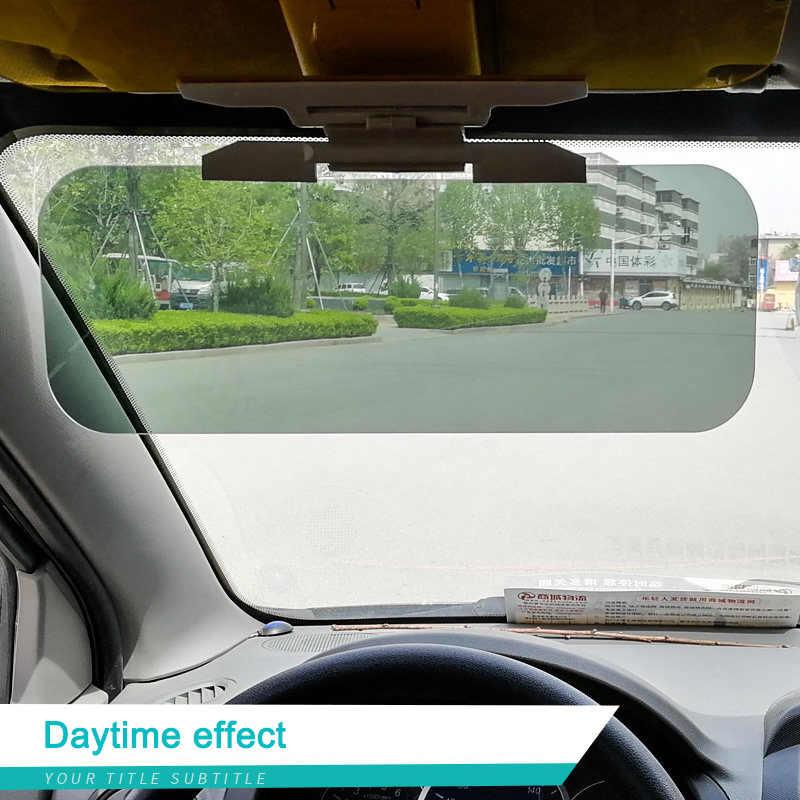 driver side sun visor extension