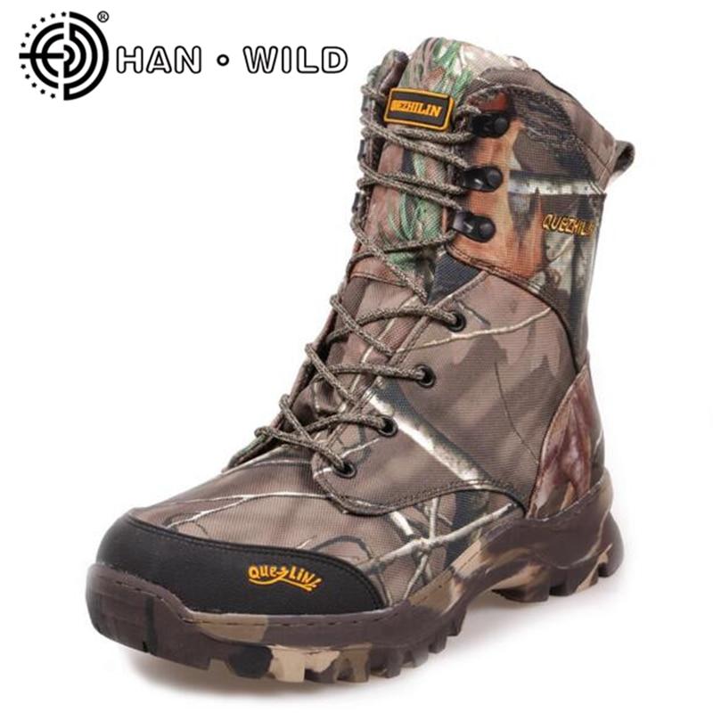 US $59.11 25% OFF|Qualität Winter Schnee Stiefel Männlichen Wasserdicht Armee Stiefel Natürliche Wolle Männer Winter Schnee Stiefel Militär Kampf