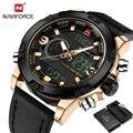 Relojes Hombres Lujo de la Marca de Moda Reloj de Cuarzo Reloj de Los Hombres Relojes Deportivos de Cuero de Los Hombres Militar Reloj de Pulsera Relogio masculino 2017