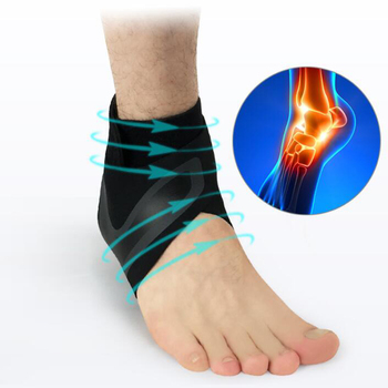 1 PCS Ankle Support Brace,Elasticity Free Adjustment Protection Foot Bandage,Sprain Prevention Sport Fitness Guard Band 8