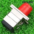 KELUSHI High quality 10PCS  optic fiber connector Fc-sc flange coupler adapter, special and quick