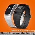 Monitorização da pressão arterial do bluetooth smart watch relógio android ios smartwatch monitoramento da freqüência cardíaca relógio de fitness à prova d' água