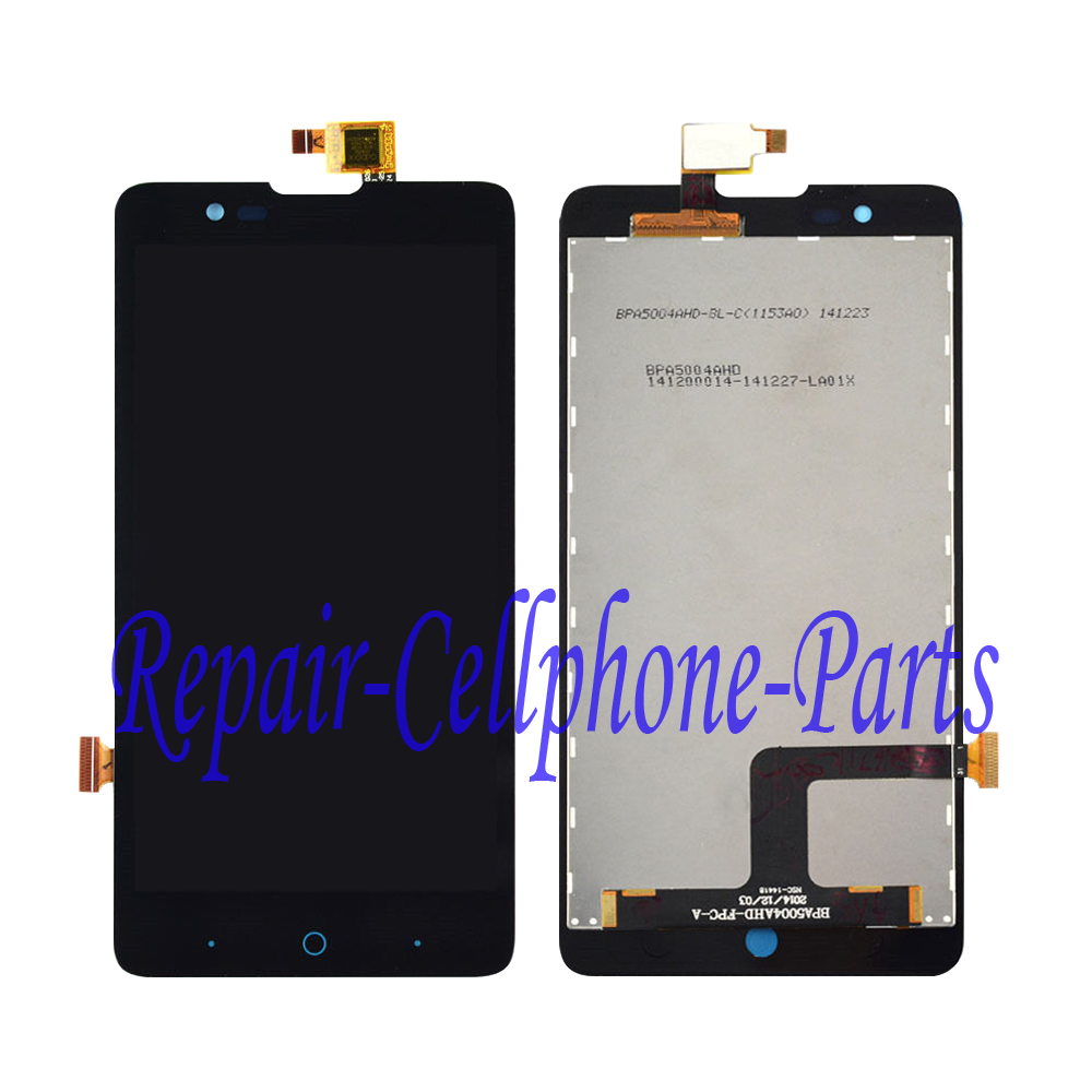imágenes para Black Full LCD DIsplay + Touch Screen Digitizer Assembly For ZTE V5 V5S N9180 V9180 U9180 N918ST Free Shipping