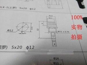 Image 2 - 100 sztuk/partia 5*20mm szklane oprawki bezpieczników 5x20 czarny bezpiecznik gniazdo bezpiecznika dla 5*20 ubezpieczenie mocowanie panelu uchwyt bezpiecznika