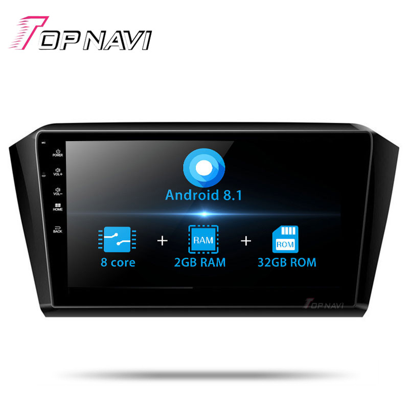 2 Din <font><b>10.1</b></font>'' Android 8.1 Car Multimedia player For <font><b>VW</b></font> <font><b>Magotan</b></font> 2017 Car Auto GPS Navigation Automotive Stereo with Map Autoradio image