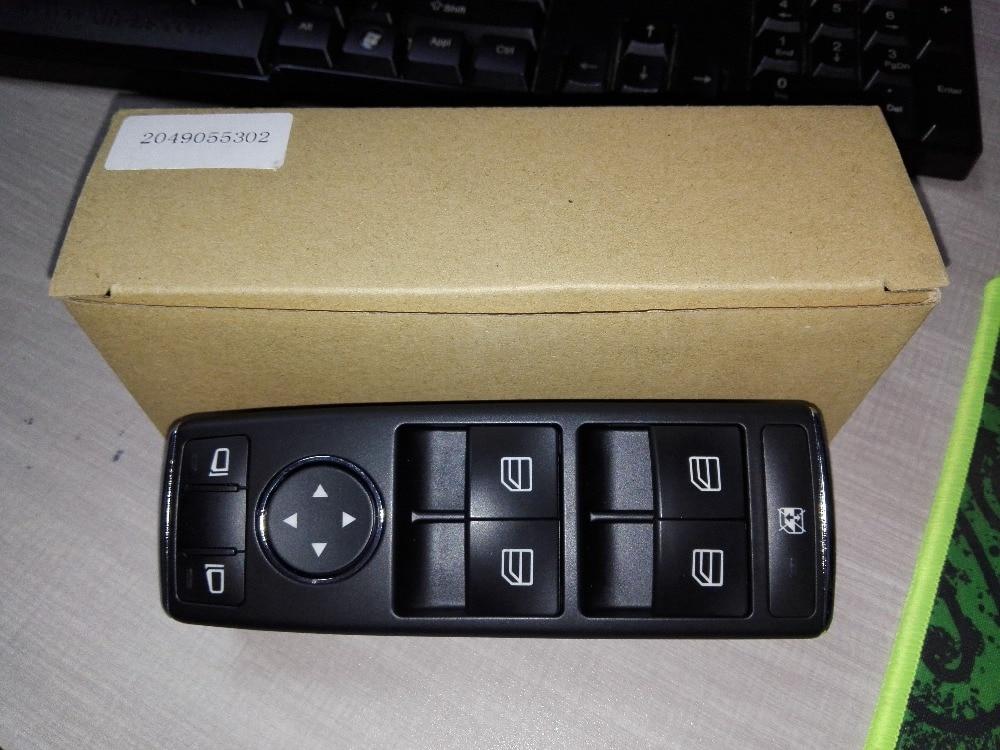 Accessoires de voiture Interrupteur de lève-Vitre Électrique 1669054400 2049055302 A2049055302 Pour benz ML350 ML500 ML63 G500 G550