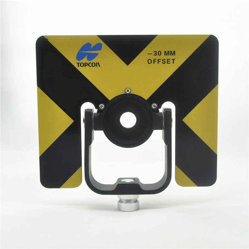 NEW YELLOW SINGLE PRISM HOLDER WITH FEMALE THREAD FOR TOTAL STATION