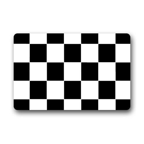 Высокое качество персонализированные черный, белый цвет клетчатый узор Дизайн прочный до ...